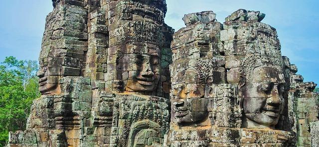 Cambodia Angkor Wat Bayon