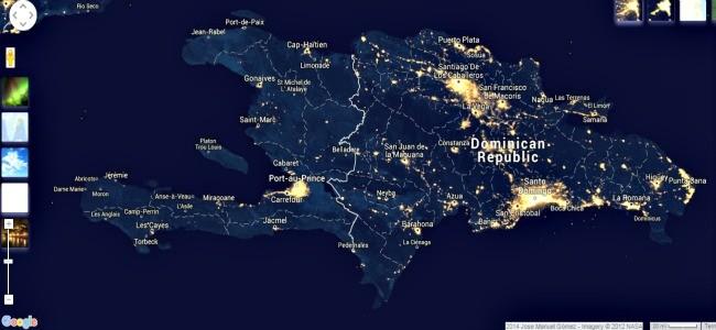 haiti night