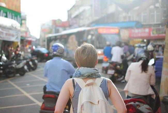 Tourist backpacker