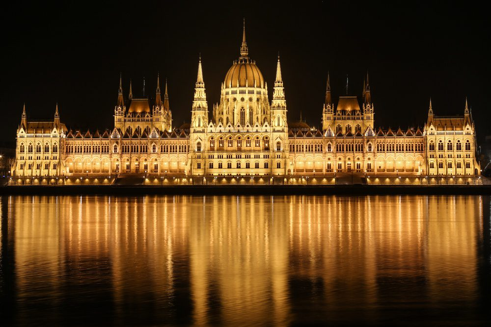 Budapest Hungary Parliment Building