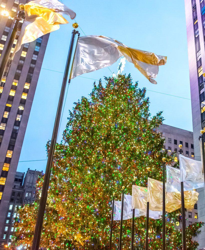 Rockefeller Center Tree - Christmas in New York