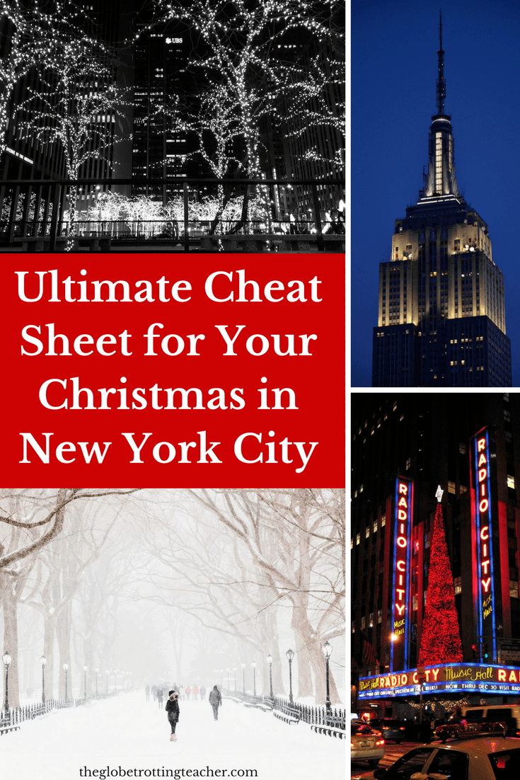 How to Plan a Successful Christmas in New York City
