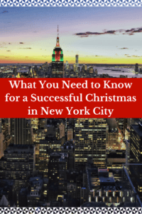 Ultimate Cheat Sheet for your Christmas in New York City written by A Local!! Everything you need to know before visiting NYC during the holidays. Super helpful tips for anyone thinking of spending the holidays in NYC! l #Christmas #newyork #NYC #travel #manhattan #christmasinnewyork #christmasinnyc