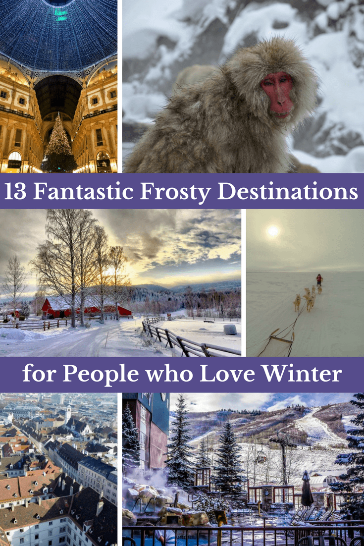 destinations for people who love winter