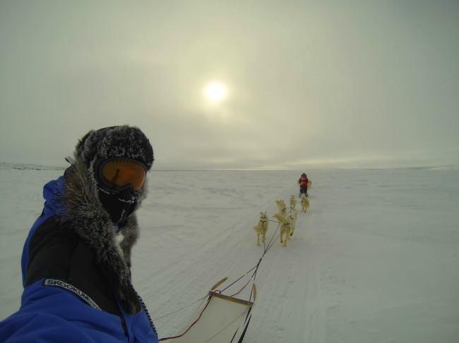 Inuvik in Arctic Canada