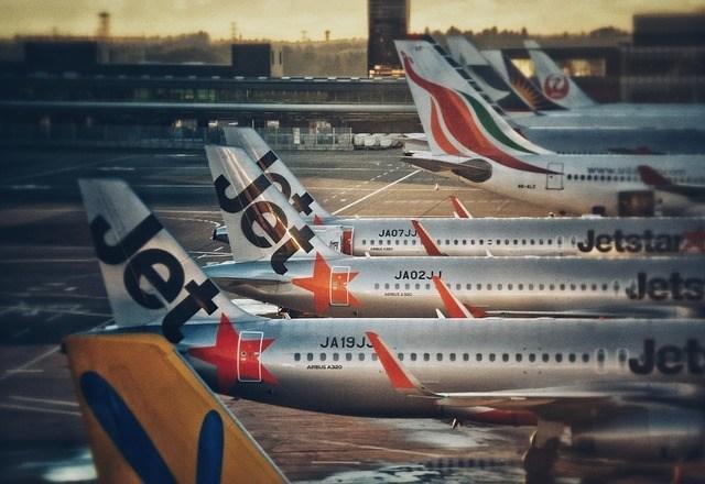 JetStar Airplane Stock