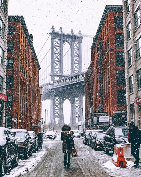 dressing for New York winter