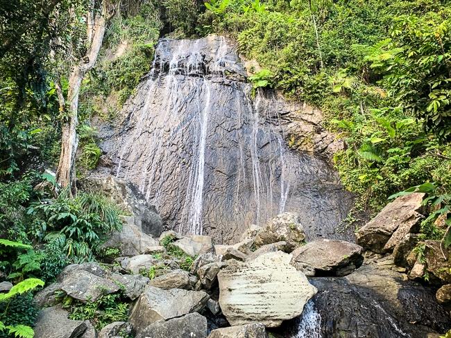 El Yunque waterfalls