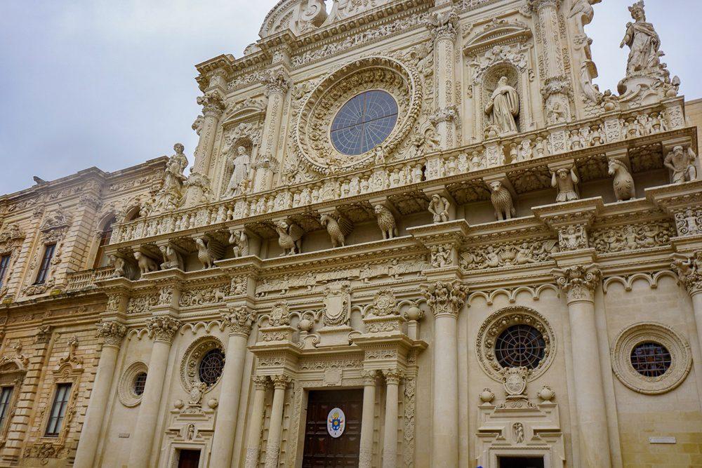 Lecce Italy Santa Croce