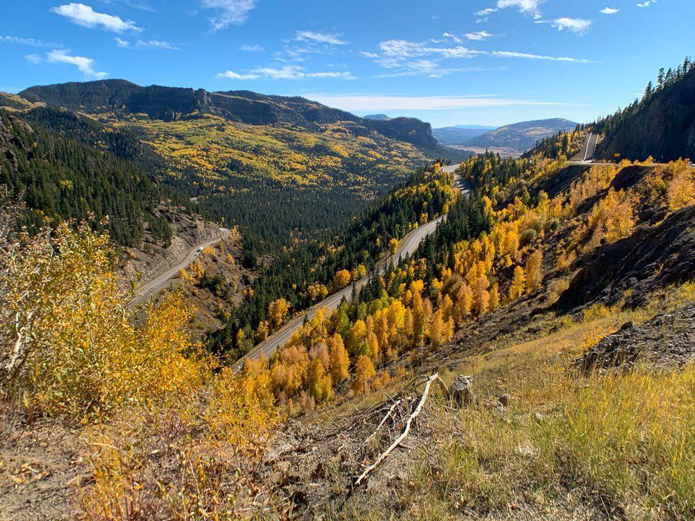 Colorado Road Trip on the way to Colorado Springs