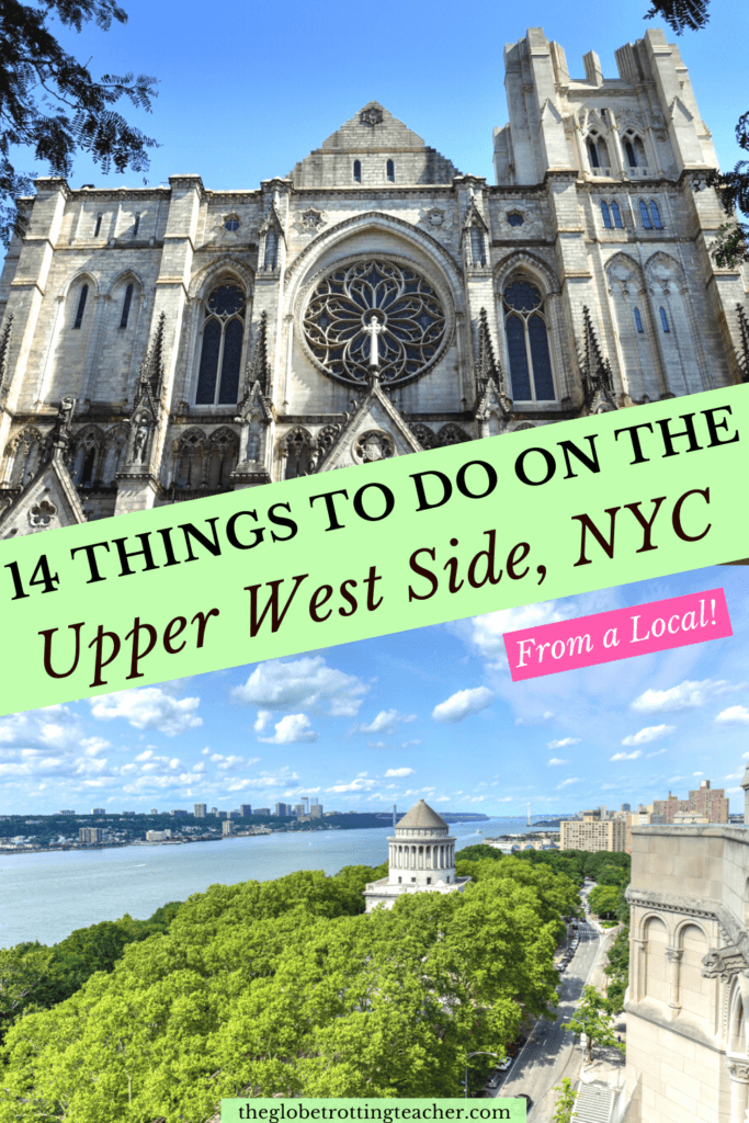 Upper West Side NYC Pinterest Pin