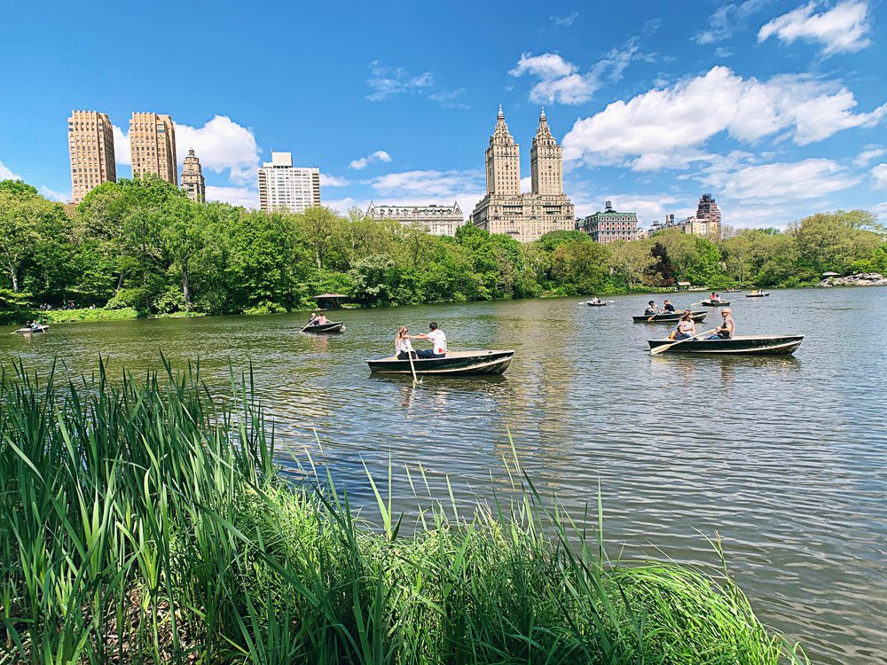 Central Park Lake NYC
