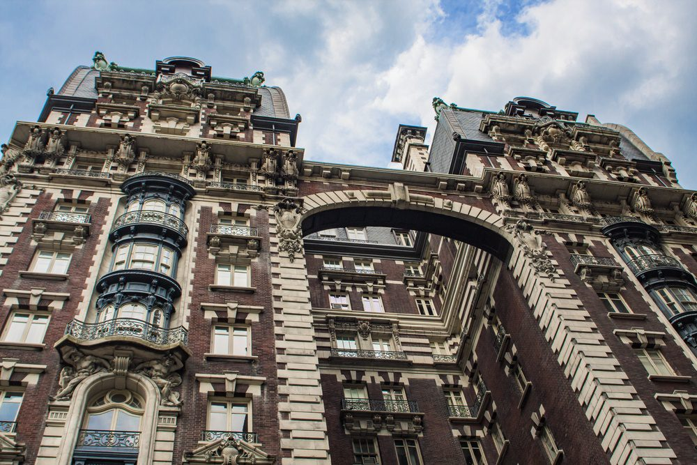 Building in Upper West Side in New York