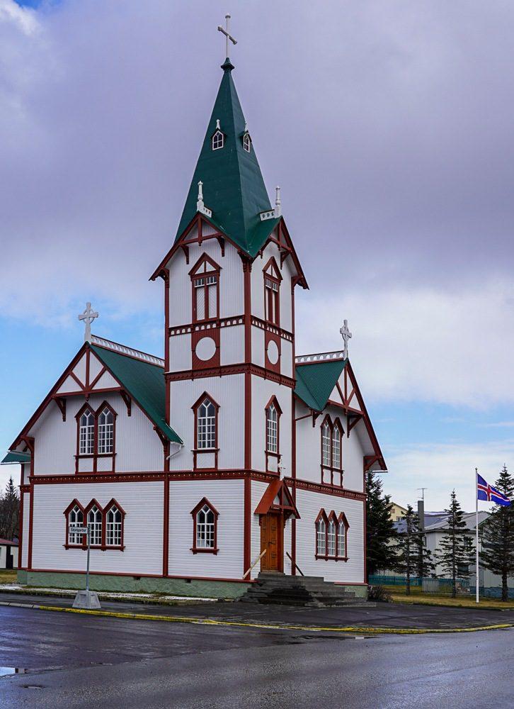 Husavik Iceland Wooden Church